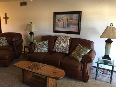 Living Room-New AAA Leather Couch