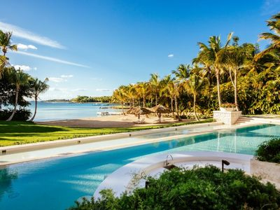 Photo for Incredible 12-bed oceanfront villa located in Casa de Campo - Contact for best rates & concierge