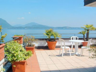 Photo for In the heart of Baveno within walking distance of the lake!