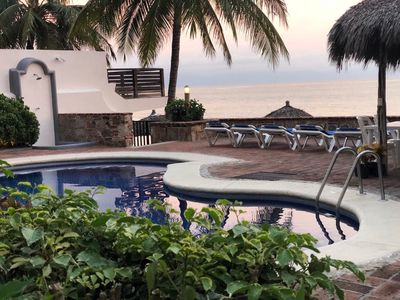 Photo for OCEANFRONT/BEACHFRONT Condo Bucerias, RIVIERA NAYARIT, PUERTO VALLARTA