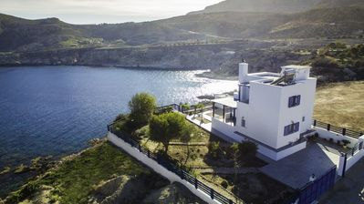 Photo for Villa Elias is a beautiful family house built on top of Laftira cape.