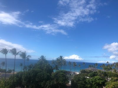 View from your own private lanai