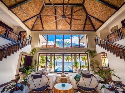 Photo for 5TH NIGHT FREE - Luxurious, 7-Bedroom, Balinese-Inspired Beachfront Home