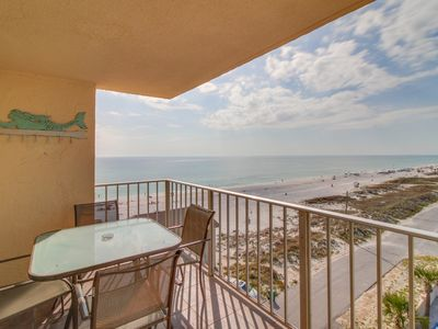 Photo for Oceanfront condo w/ shared pool & hot tub - walk to dining, near attractions!