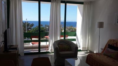 Photo for Modern apartment near the beach and with great sea views
