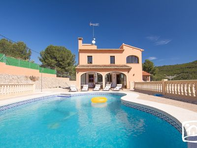 Photo for Saona Villas: Calpe, villa for 10 people, private pool, tranquility