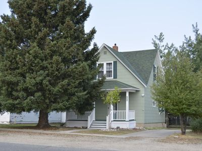 Photo for A residential jewel, blocks from downtown, dog friendly, fenced back yard, WiFi, fireplace, A/C and