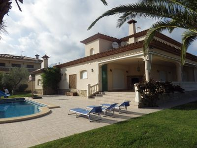 Photo for SPECTACULAR VILLA FOR 10 PEOPLE SO ONLY 1000M FROM THE BEACH