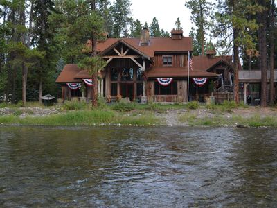 Photo for Water Front Bigfork/Glacier Park Luxury Check calender for last minute DEALS!