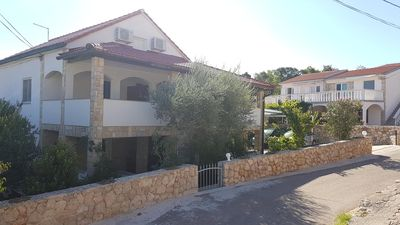 Photo for Two bedroom apartment with terrace Vinjerac (Zadar)