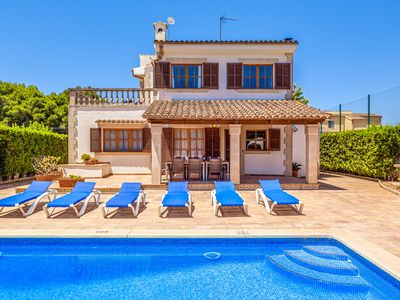 Photo for Villa Isabel with Pool and Wifi, a nice walk from the beach