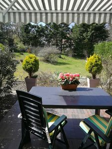 """Photo for cottage 2 pers """"Villa Marmousets"""" **** 200m seaside, grd terrace south garden"""