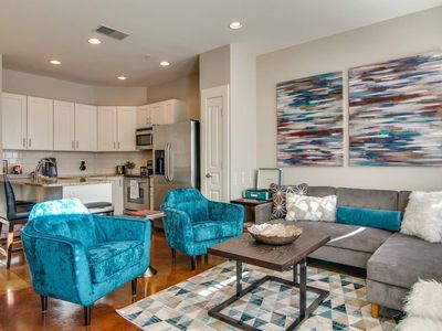 Photo for Modern Midtown Condo, Phillips Place Unit #9