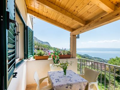 Photo for Apartment with spectacular view away from the city crowd