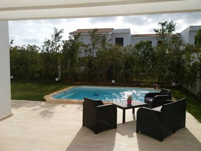 Photo for 280 sqm Beautiful Villa with private pool in Benslimane