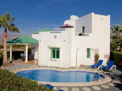 Photo for Detached Villa With Private Pool, Mountain Views and in sight of the sea.