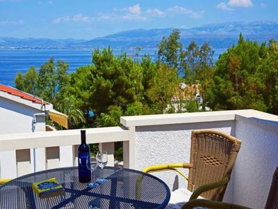 Photo for Apartment Parish in Brač/Sutivan - 7 persons, 3 bedrooms