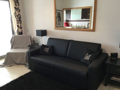 Photo for A luxury Studio Apartment, front line location, minutes from the beach.
