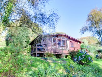 Photo for Chalet in the heart of Snowdonia National Park offering stunning lake views