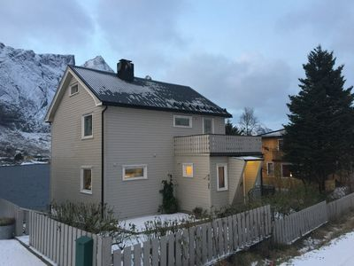 Photo for Family friendly holiday home in Reine close to the sea and all attractions in Lofoten.