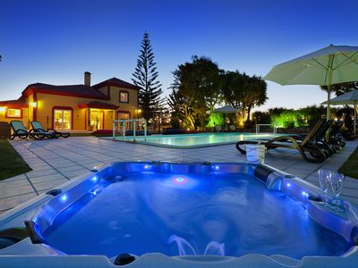 Photo for Casa Grande - 6 Bedrooms, outside kitchen, fenced pool, wheelchair friendly