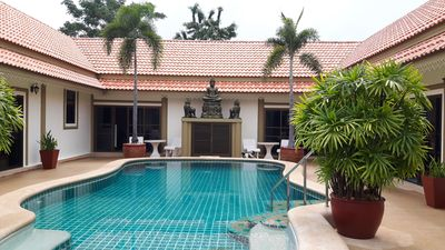 Photo for Bang sare 7 bed pool villa sleeps 20 near all attractions