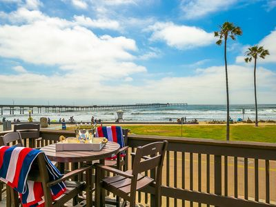 OB Pier 2 - beachfront studio w/ocean views -  dogs welcome!