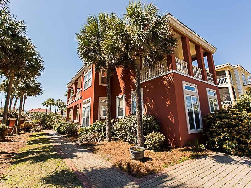 Terra Cotta Beach Villa, Miramar Beach, Destin FL Vacation House Rentals