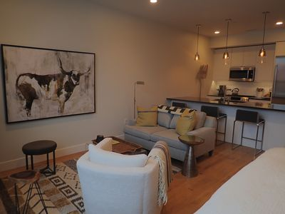 Photo for Executive studio condo in downtown core in  5 West Building. Monthly rental.