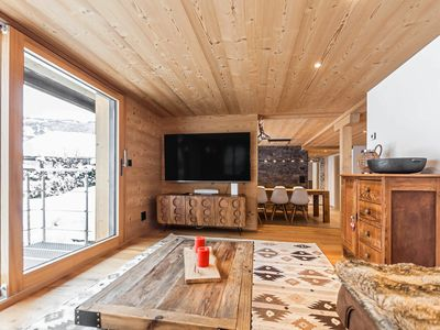 Photo for Chic Newly Refurbished Alpine Ground Floor Apartment For 5 - Perfect For Skiers
