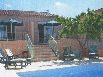 Photo for Studio for 4 persons, pool with alarm, quiet district