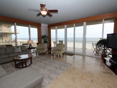 Photo for Mediterranean West 301-Beach Front Views with Wrap-Around Terrace!