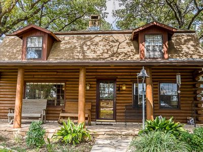 Photo for A Spacious Cabin In Fredericksburg