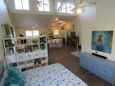 Photo for Loft With Private Deck Overlooking A 100-Acre Riverfront Property.
