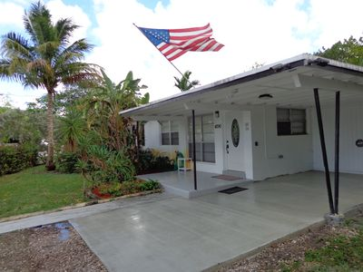 Photo for $100 per night for 1 month booking , BBQ Grill/ Internet! 4 mi from beach!