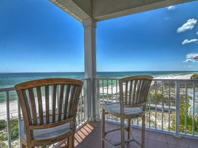Photo for BEACHFRONT UPSCALE  Big Chill 2 Masters! Between Rosemary Beach & Pier Park
