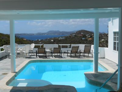 Photo for Best-Priced 2BR Villa on St. John with Ocean View and Pool!