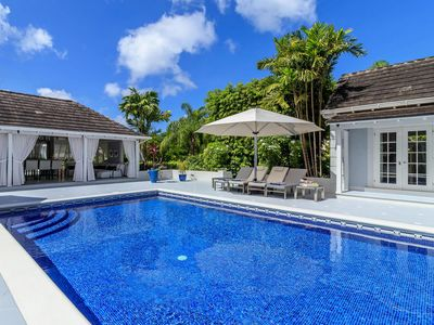 Photo for Luxurious Five-Bedroom Mansion, Private Swimming Pool, Beach Access, Fitness Room, Wifi