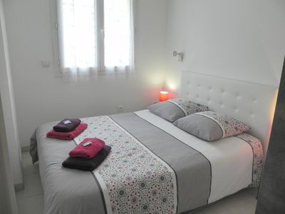 Photo for Nice 2 rooms with air conditioning, terrace, free parking elevator. lift