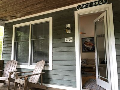 Photo for aqua Walk to town/restaurants Screened porch Fire pit 2.5 blocks to beach