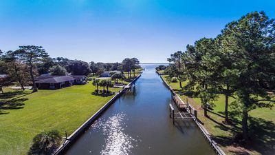 Photo for Waterfront Cottage w/ Deep Water Dock-3BR/2BA