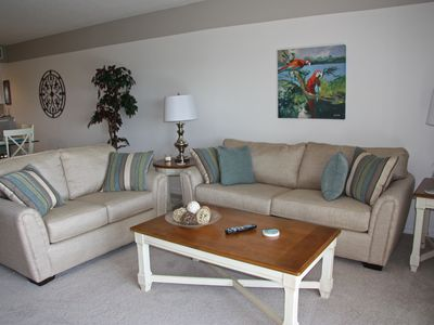 Photo for Oceanwalk - Your Home At The Beach! 3BR, 2BA Spacious Condo-sleeps 8!!