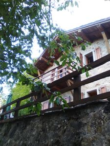 Photo for Chalet Luisella. Pretty stone house completely redone and well furnished