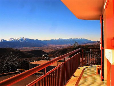 Photo for 3 bedroom apartment of 100 m2 with exceptional view on the Cerdagne