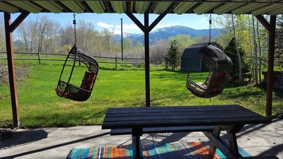 Photo for Black Bear Inn,Bridger views, E. Gallatin river behind house. Access by walking.