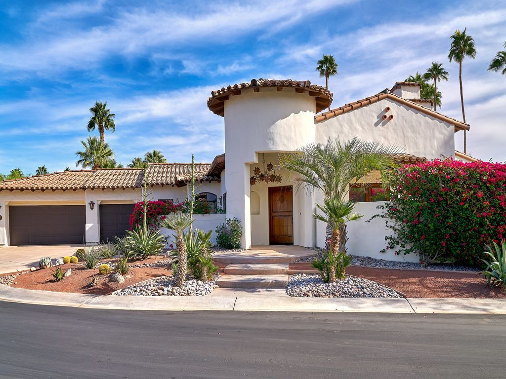 Amazing Spanish Style Vacation Home Greater Palm Springs California