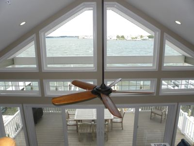 Photo for Direct Bay Front,  Panoramic Bay and Sunset Views, Boat Dock/Slip, Large porch on the wide open bay!