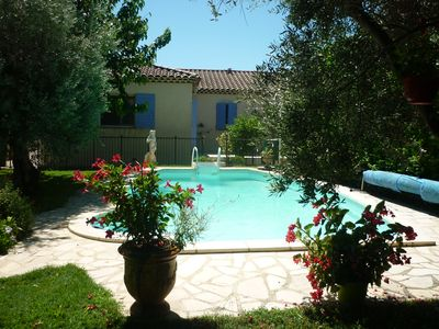 Photo for Beautiful villa in Provence, a stay of 8 nights will count as 7