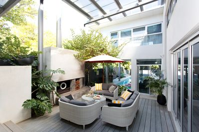 Great outdoor living spaces