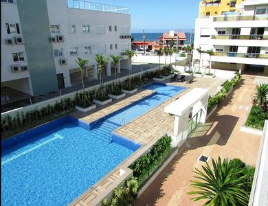 Photo for Apartment for 5 people, 30 meters from the sea with pool!